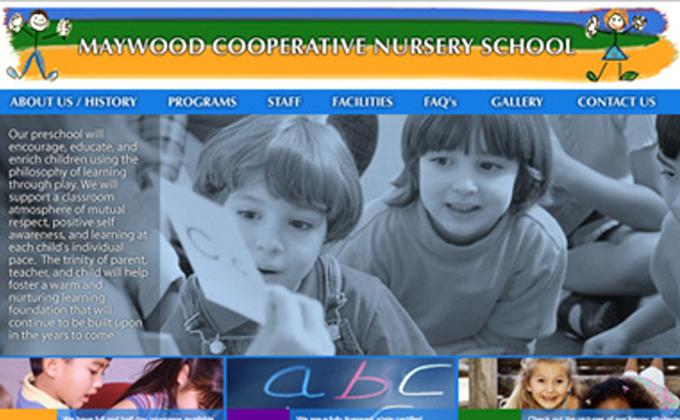 Maywood Cooperative Nursery School Re-Launch