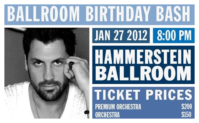 Come Help Us Crash Maksim Chmerkovskiy's Bday Bash!!!